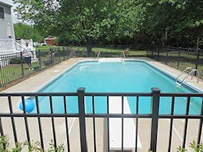 pool deck cleaned in Trappe