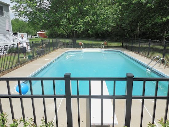 pressure washing pool deck - Denton, Maryland